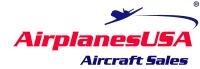 AirplanesUSA Aircraft Sales of Chicago Logo